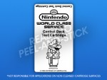 NES - Control Deck Test Cartridge Label