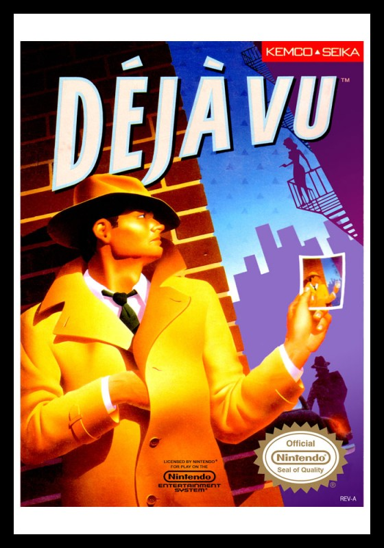 NES - Deja Vu Poster