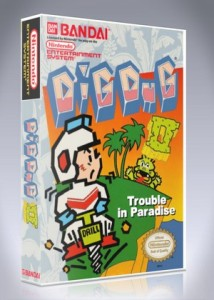 NES - Dig Dug II: Trouble in Paradise