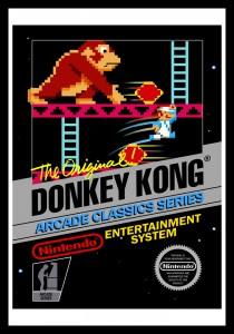 NES - Donkey Kong Poster