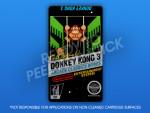 NES - Donkey Kong 3 Label