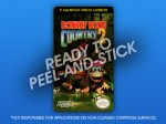 NES - Donkey Kong Country 2 Label