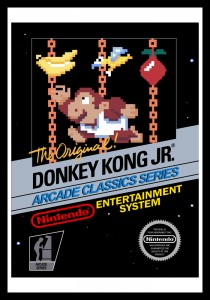 NES - Donkey Kong Jr. Poster