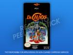 NES - Dr. Chaos Label