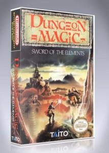 NES - Dungeon Magic: Sword of the Elements