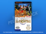 NES - Dusty Diamond's All-Star Softball Label