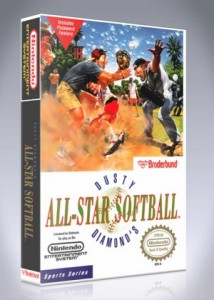 NES - Dusty Diamond's All-Star Softball