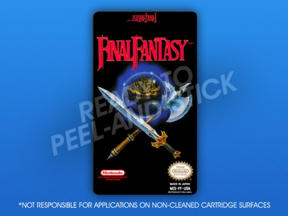 NES - Final Fantasy Label