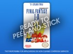 NES - Final Fantasy I & II Label