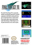 NES - Final Fantasy VII (back)