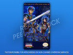 NES - Fire Emblem Shadow Dragons and the Blade of Light Label