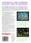 NES - Gauntlet (back)