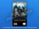 NES - God of War Label