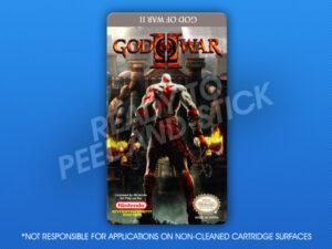 NES - God of War II Label