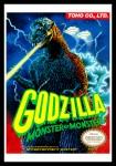 NES - Godzilla Poster