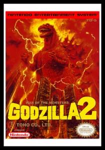 NES - Godzilla 2 Poster