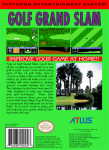 NES - Golf Grand Slam (back)
