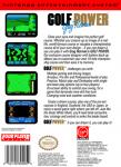 NES - Golf Power (back)