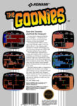 NES - Goonies (back)
