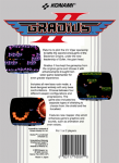 NES - Gradius II (back)