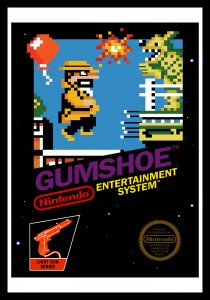 NES - Gumshoe Poster