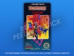 NES - Gun Smoke Label