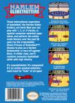 NES - Harlem Globetrotters (back)