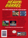 NES - Heavy Barrell (back)
