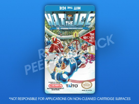 NES - Hit the Ice Label