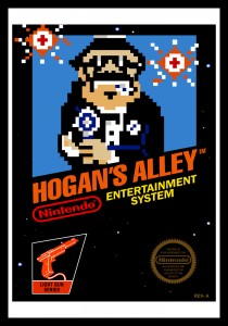 NES - Hogan's Alley Poster