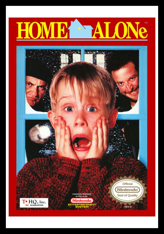 NES - Home Alone Poster