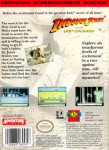 NES - Indiana Jones and the Last Crusade (back)