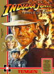 NES - Indiana Jones and the Temple of Doom (front)