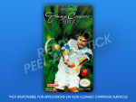 NES - Jimmy Connors Tennis Label