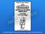 NES - Joystick Test Cartridge Label