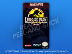 NES - Jurassic Park Label