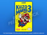 NES - Kaizo Mario Bros. 3 Label