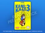 NES - Kami-Kaze Bros. 3 Label