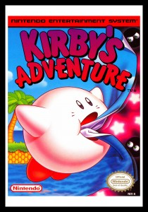 NES - Kirby's Adventure Poster