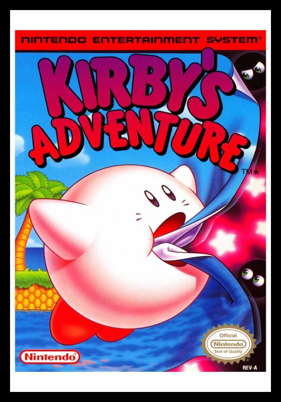 NES - Kirby's Adventure Poster