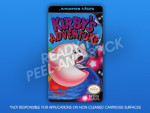 NES - Kirby's Adventure Label