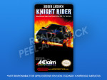 NES - Knight Rider Label