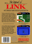 NES - Legend of Link (back)