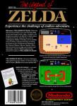 NES - Legend of Zelda (back)