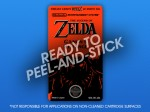 NES - Legend of Zelda: Ganon's Revenge Label