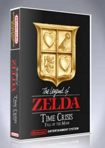 NES - Legend of Zelda, The: Time Crisis, Fall of the Moon