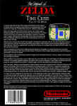 NES - Legend of Zelda: Time Crisis, Fall of the Moon (back)