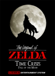 NES - Legend of Zelda: Time Crisis, Fall of the Moon (front)
