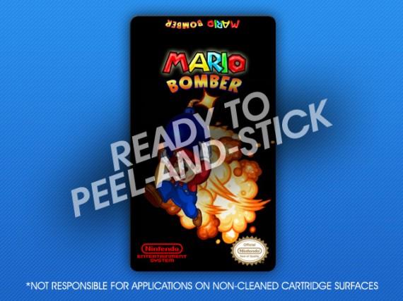 NES - Mario Bomber Label