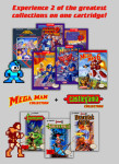 NES - Mega Man Collection + Castlevania Collection (back)